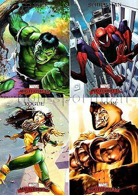 MARVEL MASTERPIECES 2007 SERIES 1 SET OF 90 CARDS