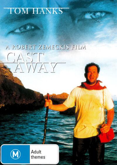 Cast Away  - DVD - NEW Region 4