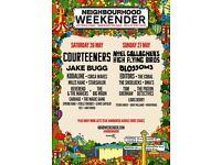 Neighbourhood weekender ticket
