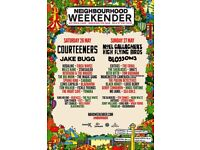 Neighbourhood Weekender Weekend Ticket