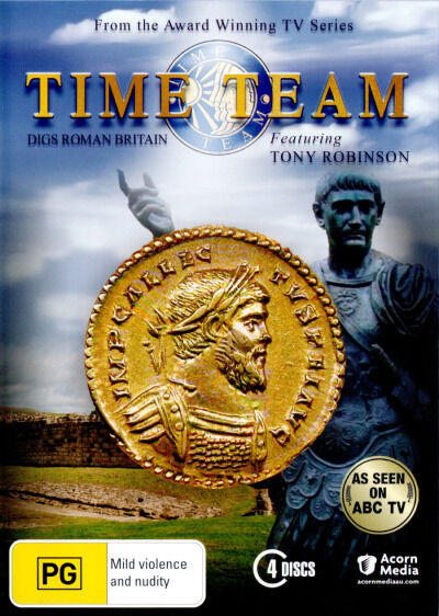 Time Team: Digs Roman Britain  - DVD - NEW Region 4