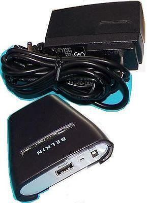 BELKIN Bluetooth Wireless USB Printer Adapter F8T031 for PDA etc Bluetooth Usb Printer Adapter