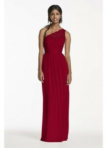 Formal Red with Lace Dress