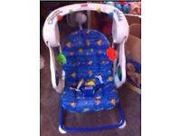 Fisher Price Blue Swing - new condition £15