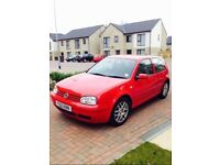 Golf mk4 1.4 Red