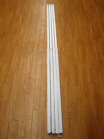 Used, 8 ft Fluorescent Light Tubes and Fittings  for sale  Woodbridge, Suffolk