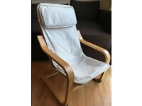 CHILDREN'S ARMCHAIR, Ikea Poang, excellent condition