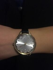 Black Womens Watch ONLY $15 Worn Very Little! London Ontario image 2