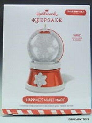 HALLMARK 2015 * HAPPINESS MAKES MAGIC * NORTHPOLE 1820 * MOVIE * MAGIC ORNAMENT