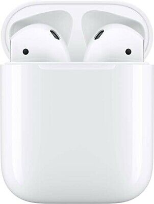 Apple AirPods 2nd Generation with Wireless Charging Case in Original Box - White