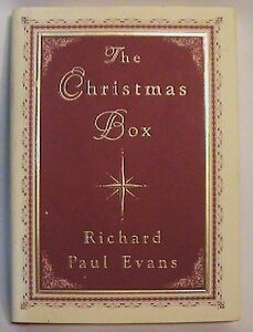 1993-THE-CHRISTMAS-BOX-by-RICHARD-PAUL-EVANS-HARDCOVER-W-DUSTJACKET-FINE-COPY