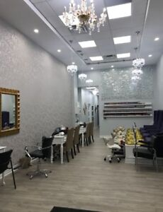 Room for Rent at Busy Salon for Certified Hairstylist