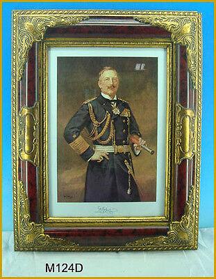 Gemaelde Bild Marine Preussen Kaiser Wilhelm II M124D