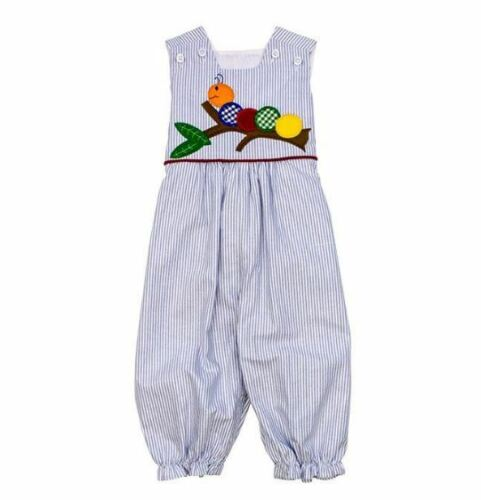 NWT Boutique The Bailey Boys Romper Girls Wally Worm Size 18 Months / 24 Months