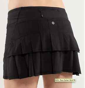 Size 4 Lululemon Pace Setter Skirt New With Tags
