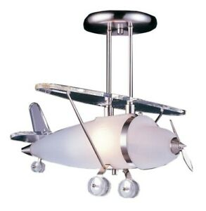 Airplane Semi Flush Mount Ceiling Light- Brand New in Box