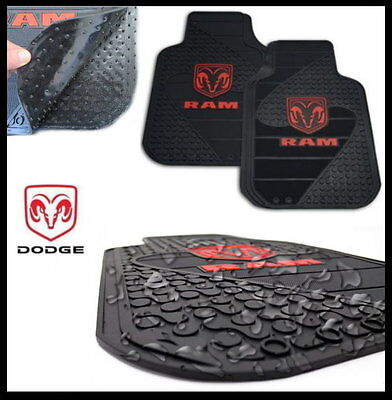 PREMIUM Fußmatten Fußmatte Dodge Ram 1500 2500 3500 schwarz paar