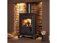 Dalton Multifuel Stove 4.9kW and an efficiency of 80%