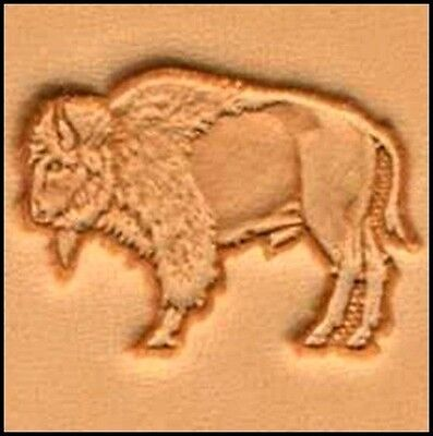 3D STANDING BUFFALO LEATHER STAMP 88418-00 Tandy Stamping Tool Stamps Tools