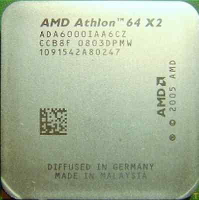 AMD CPU Athlon 64X2 6000+  3.0GHz Socket AM2 ADA6000IAA6CZ 89W comprar usado  Enviando para Brazil