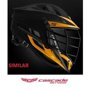 """NEW* CASCADE CPXR LACROSSE HELMET 190048996 FOR HEAD CIRCUMFERENCE 21.25"""" TO 24"""""""