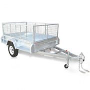 New 7 x 4 Caged/Gal dipped Trailer @ SEATONS Pimpama Gold Coast North Preview