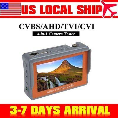 Us Stock4in1 Wrist Tester 4.3 1080p Cvbsahdtvicvi Cctv Camera Test Monitor