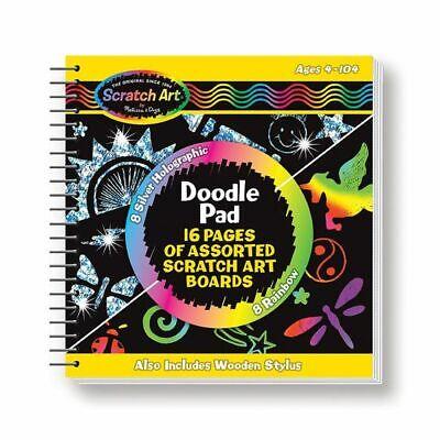 Scratch Art Doodle Pad - Melissa and Doug Scratch Art® Doodle Pad Book - 15947 - NEW!