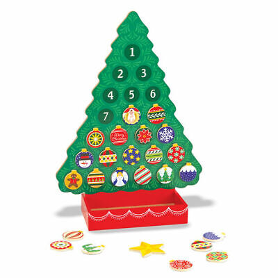 Melissa and COUNTDOWN TO CHRISTMAS WOODEN RELIGIOUS ADVENT CALENDAR