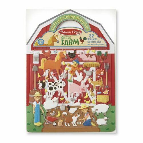 Puffy Sticker Activity Book Play Set On the Farm Melissa & Doug 9408