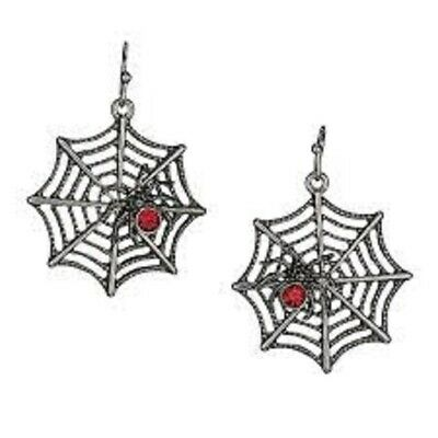 Avon Sparkling Spider Halloween Earrings - Halloween Earrings Avon