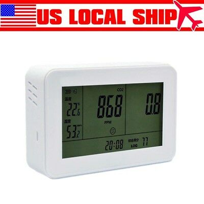 YEH-40 LCD Carbon Dioxide Detector Precise CO2 Meter Gas Tester Professional ()