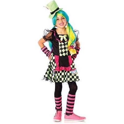 Tea Cup Mad Hatter Steampunk Dress Halloween Costume Size Medium 8/10 Wonderland - Steampunk Alice In Wonderland Costume