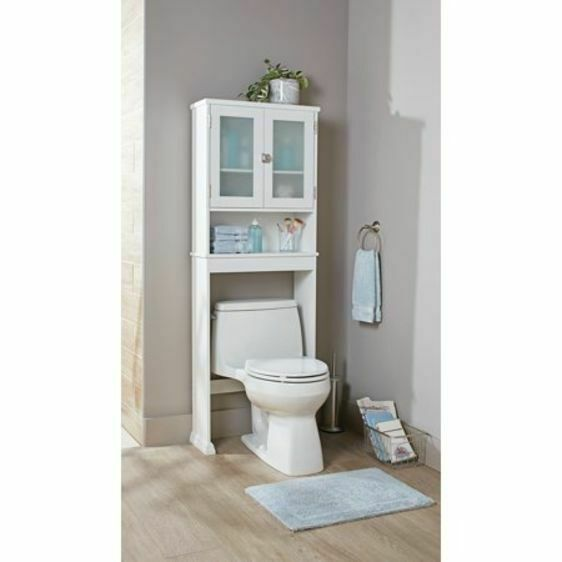 Toilet Storage Cabinet Etagere Over