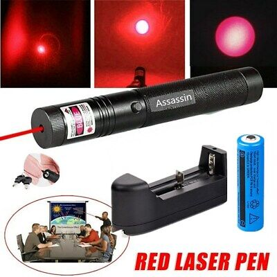 900miles 650nm Red Laser Pointer Lazer Torch 1 Mw Rechargeable Batterycharger