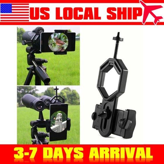 US Stock! Portable Mobile Holder Mount for Monocular Telescope Binocular Scope