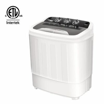 Mini 2-in-1 Laundry Washer & Dryer Combo Clothes Washing Dry