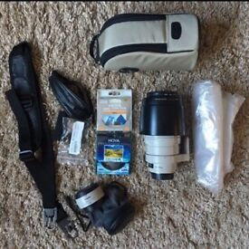 Canon lens plus other items