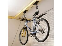 Bike storage hoist/pulley x 2