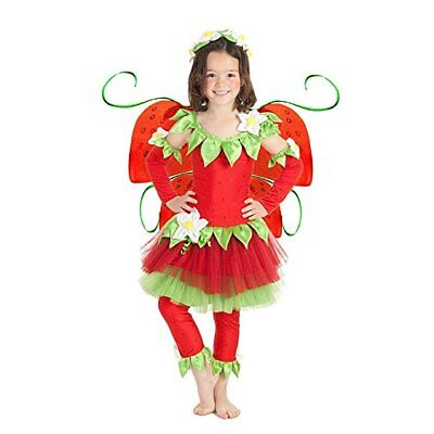 Princess Paradise Strawberry Fairy Costume (Wings Not included) - Toddler 18M-2T - Strawberry Toddler Costume