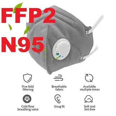 FFP2 N95 FFP3 VENTIL WIEDERVERWENDBAR WASCHBAR MUNDSCHUTZ ...