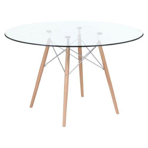 Replica Eames Eiffel DSW Glass Dining Table eBay : 12 from www.ebay.com size 500 x 500 jpeg 11kB