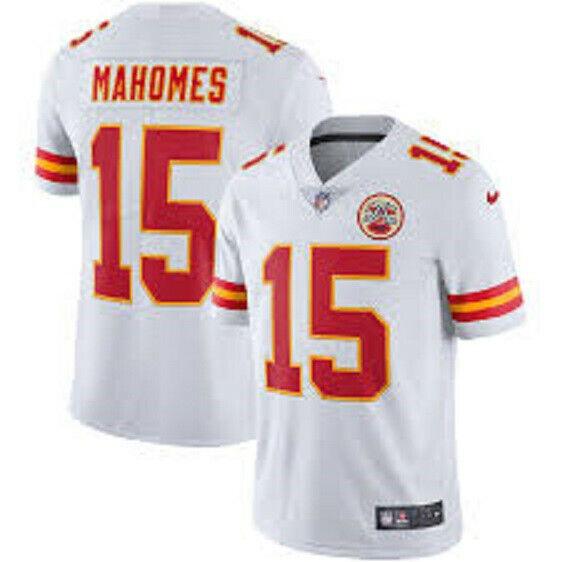 MAHOMES camiseta de la NFL Chiefs blanca.Talla disponible S,M,L.