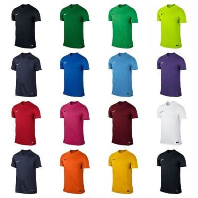 Nike boys t shirt Kids Football Sports Top Tee Training Junior Gym Dri Fit