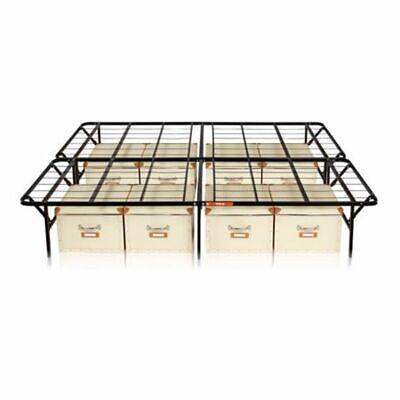 California King Steel Mattress Foundation Bed Frame 14