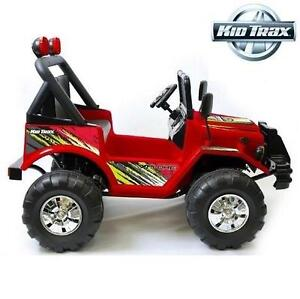 USED KID TRAX RIDE ON 12V JEEP ELECTRIC 12V TOY - KIDS - CHILDREN - BOYS - GIRLS - XPLORE RIDE-ON TOY 106968189