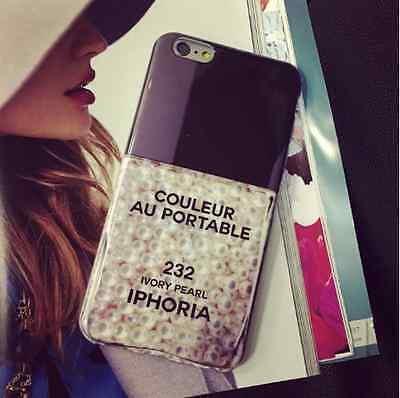 New iPhoria Parfum Style Ivory Pearl Phone Case For iPhone 6 / 6 Plus A08