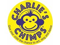 CHARLIE'S CHIMPS - a fabulously fun fusion class for young children!