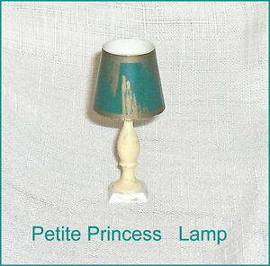 Petite Princess Table Lamp and Shade Dollhouse Furniture Belleville Belleville Area image 1