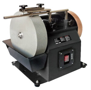 10-Inch Two-Direction Water Cooled Wet/Dry Sharpening System